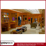 Wooden Display equipment for Menswear Retail Store