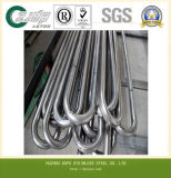 Manufacturer AISI 304 316 U-Type Stainless Steel Pipe