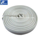 White Double Jacket Fire Hose