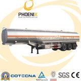 40tons 45000 Liters Aluminum Petrol Tanker Semitrailer with 3axles