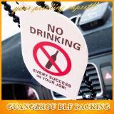 Scented Air Freshener of No Drinking Warning (BLF-C051)