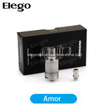 100% Wismec Amor Atomizer 2.5ml E Cigarettes Tank (Adjustable Airflow)