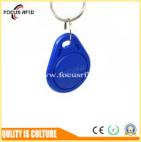 13.56MHz NXP MIFARE Ultralight C RFID Key Fob for Retail Payment and Time Attendance