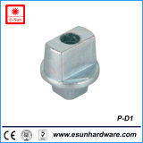 High Quality Aluminium Alloy Bottom Glass Door Patch Fitting (P-D1)