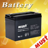 Must Deep Cycle Gel Battery Fcdg 12V 200ah Portable Size