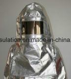 Heat Insulation and Fireproof Aluminum Foil Cotton Fabric Fire Suit