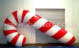 Christmas Candy Cane Inflatable Replicas, Inflatable Flying Candy Balloon K7140