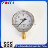 High Quality Small Pressure Gauge with Ss Case Brass Internal