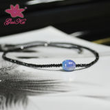 Hot Sale Jewelry Black Spinel Necklace for Women Gus-Fsn-003