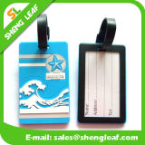 Factory Price Custom 3D Rubber Luggage Tag (SLF-LT016)