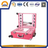 Light Beauty Trolley Case for Cosmetics & Makeup Tools (HB-1002)