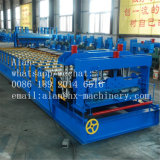 Glazed Steel Roof Step Tile Roll Forming Machine