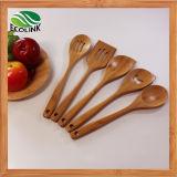 Bamboo Kitchen Utensil Set/ Bamboo Spoon Spade