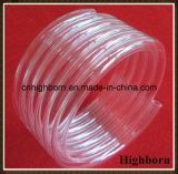 Clear Fused Coil Silica Quartz Glass Tube in 7coins