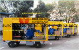 Trailer Mounted Concrete Pump ISO9001 Certified