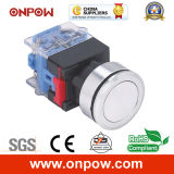 Onpow 30mm Push Button Switch (LAS0-K30-11P, CE, CCC, RoHS)