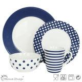 16PCS Decal Porcelain Dinner Set Fashion Style