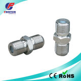 F Double Female Connector with Wide Hex