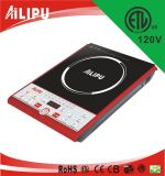 1500W, 1800W, 110V, 120V 1 Burner ETL C-ETL Electric Induction Cooker for USA CANDA Mexico