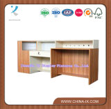 Modern Wooden Display Checkout Counter Cash Counter