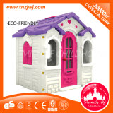 Ce Certificated Preschool Plastic Doll House Mini Playground Toy