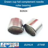 Inch Size Drawn Cup Full Complement Needle Roller Bearing (B2824)