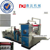 Equipment for Production Embossed Interfold Face Tissue Facial Paper Maker Machine