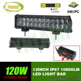 120W 12inch 4D 2rows LED Light Bar with CREE LEDs