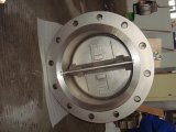 Wafer Dual Plate Double Flange Type Check Valve