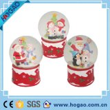 Christmas Snow Man Resin Snow Globe