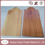 Wood Grain Effect Powder Coating with Antique Appearance