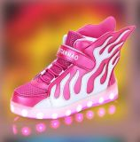 Latest Student Flash Light Shoes Cool LED Shoes (FF824-1)