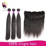 Natural Color Unprocessed Remy Brazilian Straight Virgin Human Hair Extension