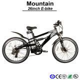 36V10ah Ergonomic Frame Design Mountain Electric Bike for Man Cool Suspension E-Bicycle (TDE05Z)