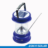 Solar Lantern (solar camping light) with Radio (ZY-03E)