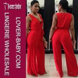 Woman Sexy Red Pants Party Wears (L55195)
