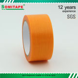 Sh319 Sticky Orange PE Curing Tape for Different Surfaces Protection Masking Somitape