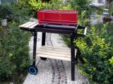 Beach Trolley Charcoal Barbecue Grill