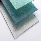 One Side UV Protection 3.4mm Polycarbonate Diamond Embossed Sheet