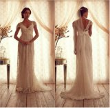 Lace Beach Bridal Dresses Maternity Empire Wedding Dresses Gowns Ld169