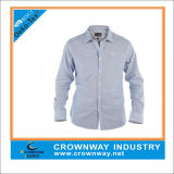 Long Sleeve Cotton Strip Shirts for Men (CW-LS-1)