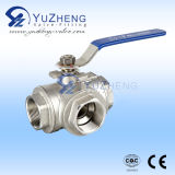 Stainless Steel 3 Way Ball Valve Manufacturer