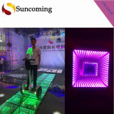 New Wedding Popular Lowest Price 3D Time Tunnel Dance Floor LED