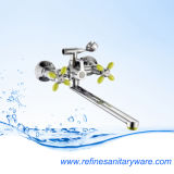 Economic Dual Handle Bathtub Faucet with Competitive Price (R2022878CL-30F-03-05Y)