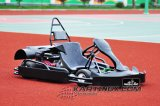 168f, 200cc, 4stoke, 6.5HP with Wet Clutch System Racing Go Karts Gc2007 with Hydraulic Brake