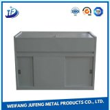 Customized Steel/Aluminum Sheet Metal Stamping Auto Accessory with Electroplating