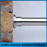 Premium Stainless Steel 203cm-305cm Tension Curtain Rod for Shower Room