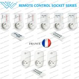 France Smart Plug Remote Control Socket French Intelligent Power Socket