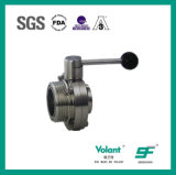 Sanitary Stainless Steel Thread Butterfly Valve Sfx053