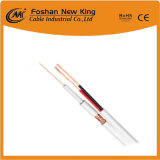 High Quality 75 Ohm Rg59 Video Combo Cable with Power Cable for CCTV/CATV Surveillance